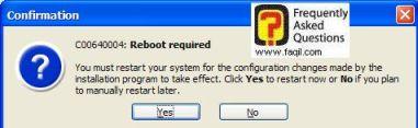 לחצו על כן כדי להפעיל מחדש את המערכת, ואז התוכנה Acronis Disk יופעל