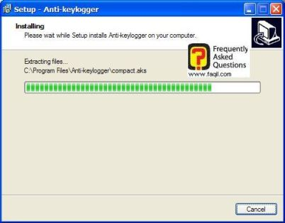 ההתחלה החלה של  Anti Keylogger