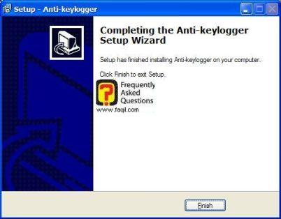 ההקנה הסתיימה של Anti Keylogger