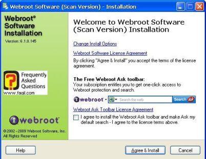 מסך ברוכים הבאים -antivirus werboot