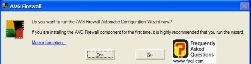 התקנת AVG 7.5 הסתיימה