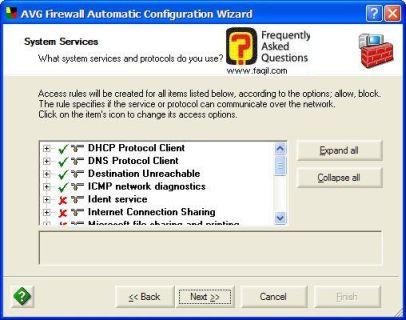 יישומים שיבדקו עם  AVG 7.5