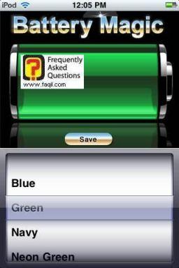 צבע הבטריה, Battery Magic