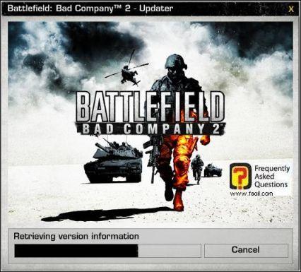 טעינת המשחק, המשחק Battlefield Bad Company 2  (באטפילד בד קומפני 2)