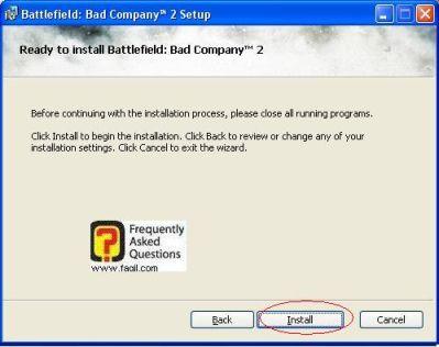 קרא לפני התקנה, להתקנת המשחק Battlefield Bad Company 2  (באטפילד בד קומפני 2)