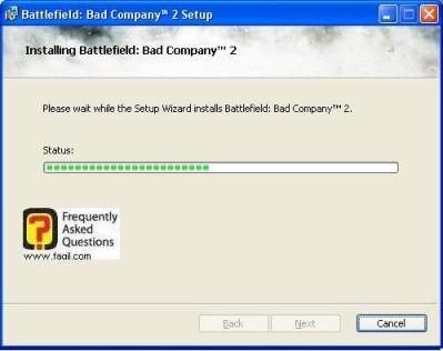 ההתקנה החלה,המשחק Battlefield Bad Company 2  (באטפילד בד קומפני 2)