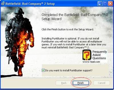 ההתקנה הסתיימה,המשחק Battlefield Bad Company 2  (באטפילד בד קומפני 2)