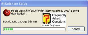 פתיחת קובץ ההתקנה,BitDefender Internet Security 2010
