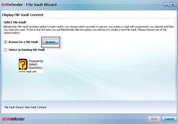שמירת קבצים מוצגים,BitDefender Internet Security 2010