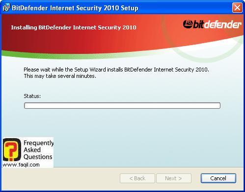 ההתקנה תחל-המתינו לסיומו,BitDefender Internet Security 2010