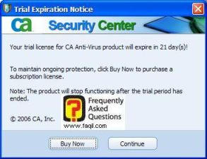 נסמן על המשך, ca anti virus