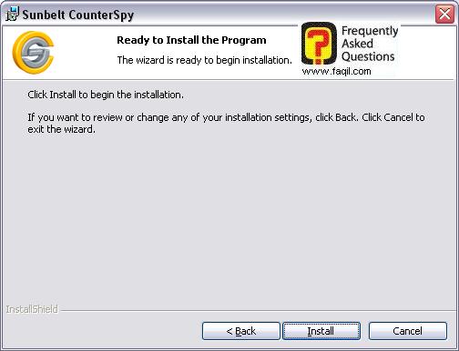 קרא לפני ההתקנה,לתוכנת האנטי רוגלה counterspy