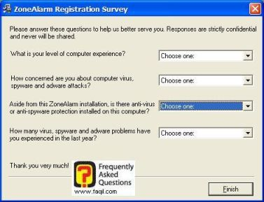 מסך סקר,ZoneAlarm Anti-Virus