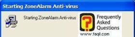 מתחיל להיות מורץ במחשב,ZoneAlarm Anti-Virus