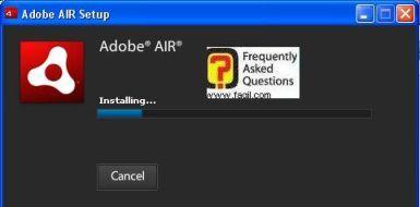 התקנה החלה של adobe air, EA Download