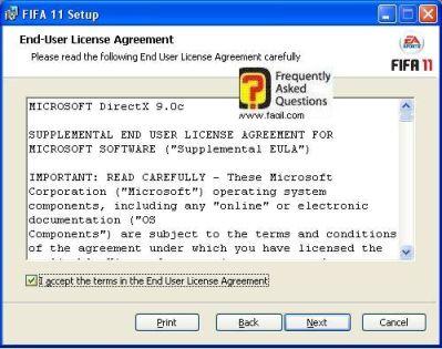 הסכם diretcx של מיקרוסופט,fifa 11 (פיפ