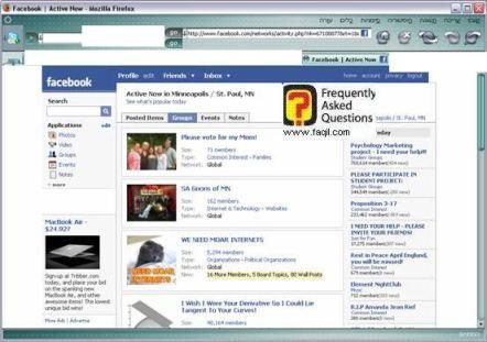 הקבוצות הפופולאריות נכון לתאריך הנוכחי, פייסבוק