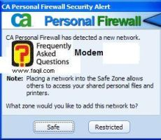פרטי חיבור אינטרנט,CA Personal Firewall