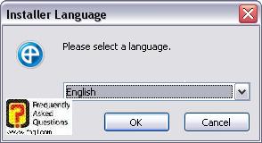 בחירת שפת התקנה,IE7PRO