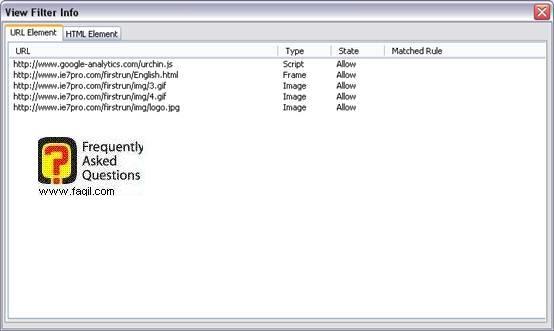 הפעולות שבוצעו על ידי הכלי ,IE7PRO