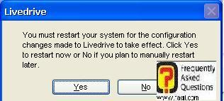 הפעלה מחדש של המחשב, תוכנת LiveDrive