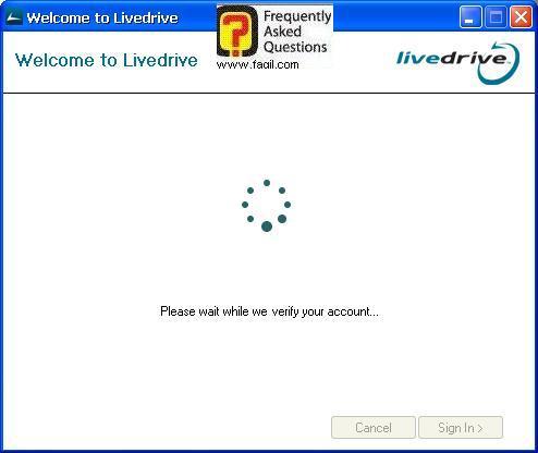 טוען כעת, תוכנת LiveDrive