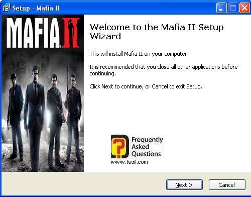 מסך ברוכים הבאים,מאפיה 2 (Mafia ii)