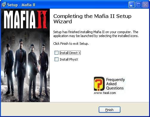 הסתיימה ההתקנה,מאפיה 2 (Mafia ii)