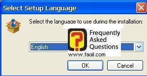 בחירת שפת התקנה, תוכנת Net Nanny