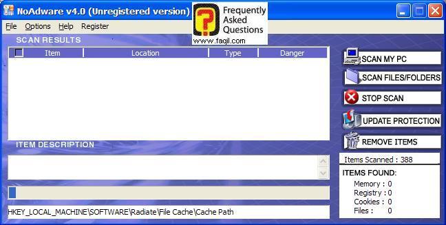 סרוק מחשב שלי,NoAdware 4.0