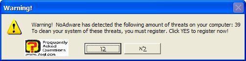 אם נמצאו מזיקים,NoAdware 4.0