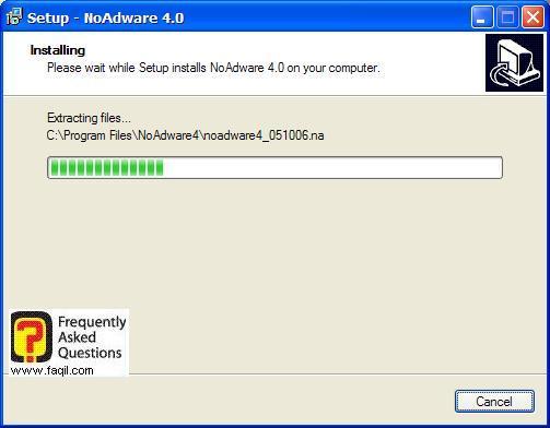 ההתקנה החלה,NoAdware 4.0