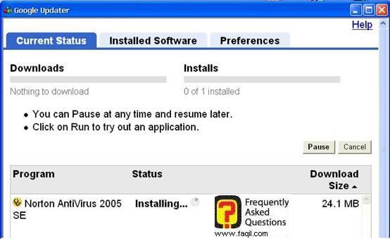 התקנת התוכנה,האנטיוירוס נורטון 2005|Norton Anti Virus 2005