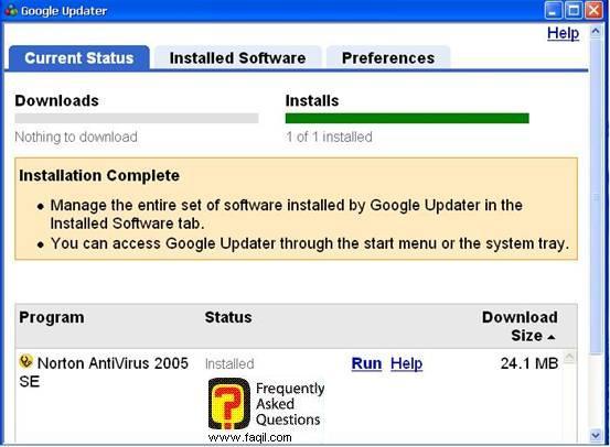התחלת ההתקנה,האנטיוירוס נורטון 2005|Norton Anti Virus 2005