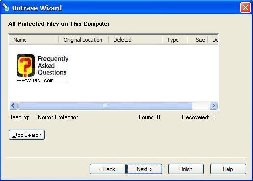אם החלטנו לשחזר קובץ, בNorton SystemWorks 2006