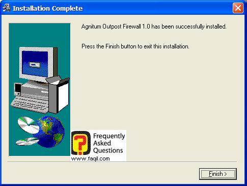 התחלת הסתיימה, Outpost Firewall