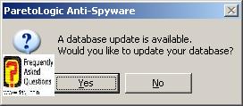 עדכון בסיס התוכנה, parelogic-anti spyware