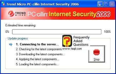 בדיקת עדכון, PC cillin