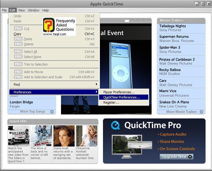 Quicktime movie viewer free