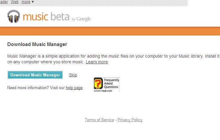 גוגל מוזיקה-תוכנה שתאתר או דרך האתר