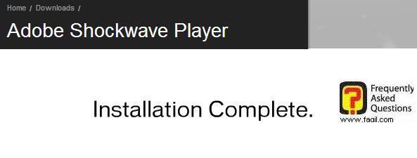 הסתיימה התקנת shockwave