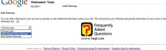 האפשרות הראשונה-לבעלי אתר אינטרנט ברשת , גוגל וובמאסטר