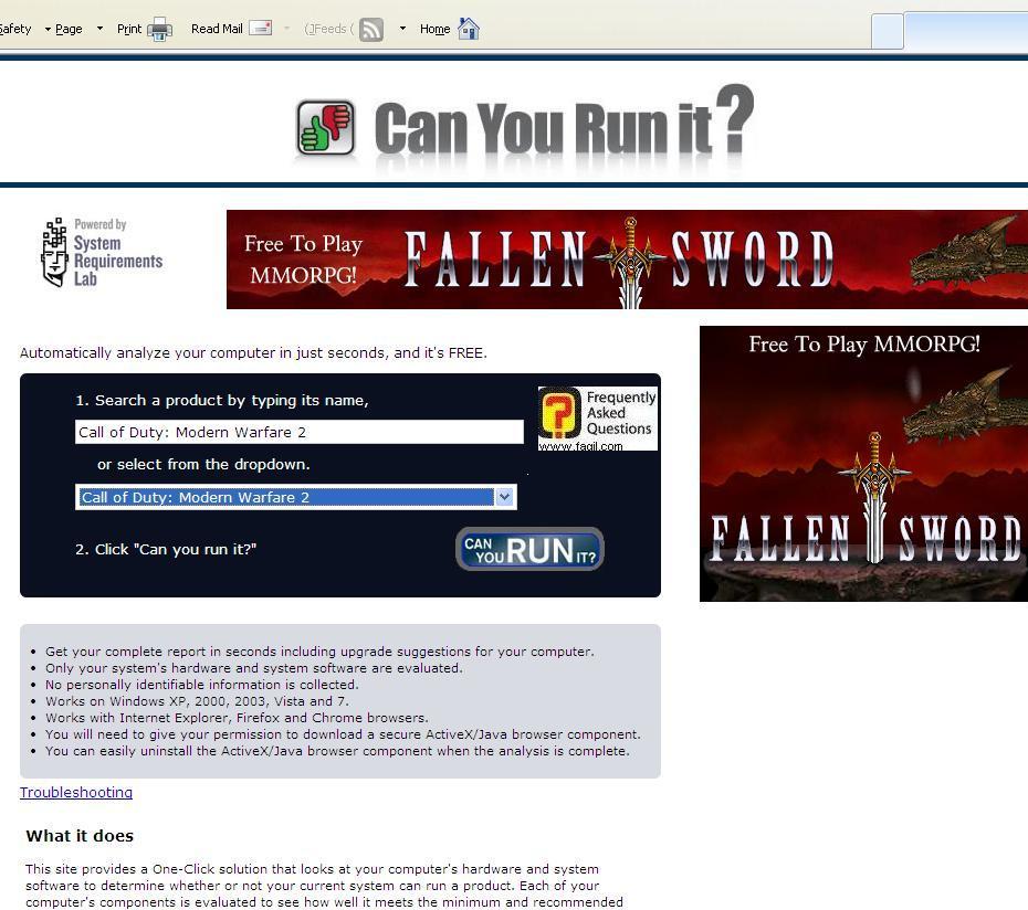בחרו בRun להריץ לבדיקת המשחק