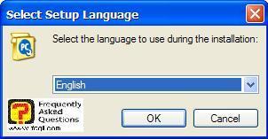 מסך בחירת שפת התקנה,Spware Doctor