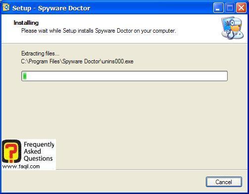 ההתקנה החלה,Spware Doctor