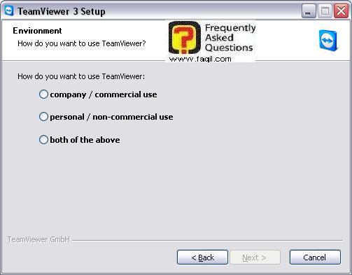 אופן שימוש בתוכנה,בהתקנה,teamviewer