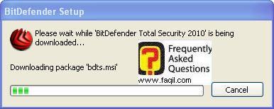 הפעילו את קובץ ההתקנה,BitDefender Total Security 2010