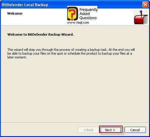 לבוחרים בגיבוי כללי,BitDefender Total Security 2010