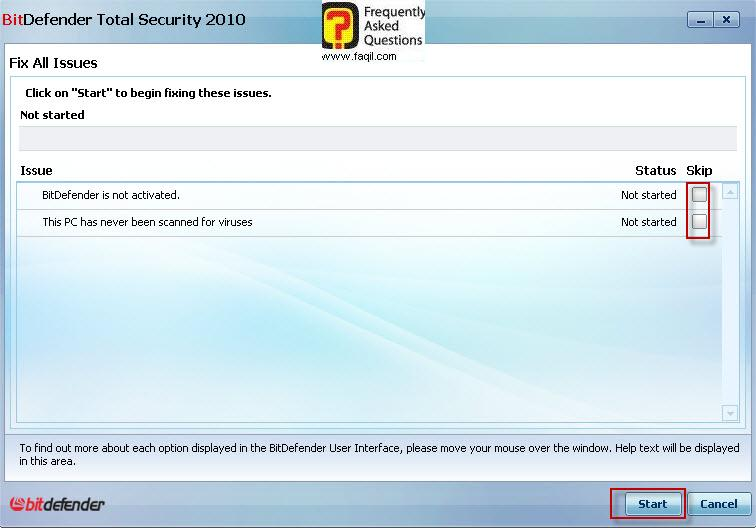 תיקון ליקוי אבטחה,BitDefender Total Security 2010