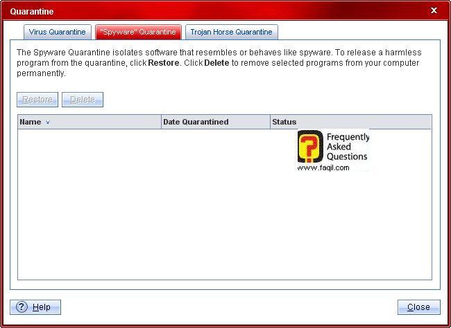 רשימת הסגר ספיוור,Trend Micro Internet Security 2010